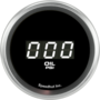 "2-1/16"" Oil Pressure Digital Gauge 0-100psi (w/ Easy Touch Bezel)"