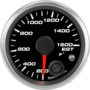 "2-1/16"" EGT Temp Gauge 200-1600F (w/ warning)"