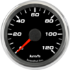 "2-5/8"" Speedometer Gauge 120km/h Metric programmable"