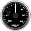 "2-5/8"" Ford GT Boost Gauge  gauge"