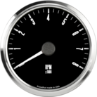 "3-3/8"" Freedom CAN-BUS Tachometer 8K RPM"