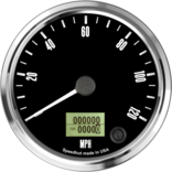 "4"" Freedom CAN-BUS Speedometer 120mph"