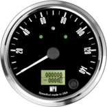 "4"" Freedom CAN-BUS Speedometer 140mph (w/ turn signal and high beam)"