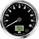 "4"" Freedom CAN-BUS Speedometer 100mph"