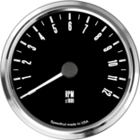 "4"" Freedom CAN-BUS Tachometer 12K RPM"
