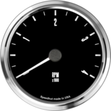 "4"" Freedom CAN-BUS Tachometer 4K RPM"