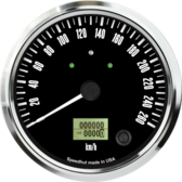 "4-1/2"" Freedom CAN-BUS Speedometer Gauge 260 km/h Metric (w/turn signal and high beam)"