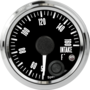 "2-1/16"" Freedom CAN-BUS Intake Temp Gauge 50-160F (w/ warning)"