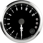 "3-3/8"" Freedom CAN-BUS Tachometer 12K RPM Shift-light"