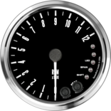 "4"" Freedom CAN-BUS Tachometer 12K RPM Shift-light"