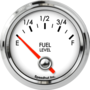 "2-1/16"" Fuel Level Gauge (programmable) (90° Sweep)"