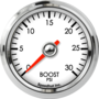 "2-1/16"" Boost Gauge 0-30psi"