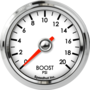 "2-1/16"" Boost Gauge 0-20psi"