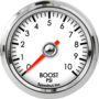 "2-1/16"" Boost Gauge 0-10psi"