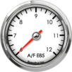 "2-5/8"" Air/Fuel Gauge E85 6-12 (FOR AEM)"