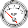 "2-1/16"" Boost Gauge 0-2bar (90° Sweep)"