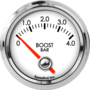 "2-1/16"" Boost Gauge 0-4bar (90° Sweep)"