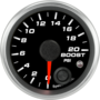 "2-1/16"" Boost Gauge 0-20psi (w/ warning)"