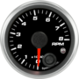 "2-1/16"" Tachometer 8K RPM Internal Shift-light"