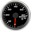 "2-5/8"" Boost Gauge 0-60psi (w/ warning)"