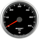 "3-3/8"" Boost Gauge 0-60psi (w/ warning)"