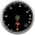 "3-3/8"" Tachometer 5K RPM Shift-light"