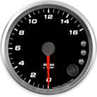 "3-3/8"" Tachometer 16K RPM Shift-light"