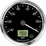 "4"" Speedometer 140mph programmable (Counter Clockwise)"
