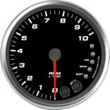 "4"" Tachometer 10K RPM Shift-light"