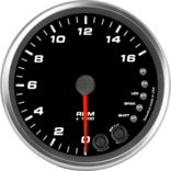 "4"" Tachometer 16K RPM Shift-light"