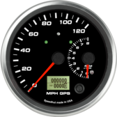 "4-1/2"" Dual Gauge - 120mph GPS Speedometer / 8K Tachometer (w/ turn signal and high beam)"