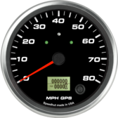 "4-1/2"" GPS Speedometer 80mph (w/ turn signal and high beam)"