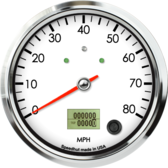"4-1/2"" Speedometer 80mph programmable (w/ turn signal and high beam)"