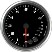 "4-1/2"" Tachometer 8K RPM Shift-light (Dash Mount)"