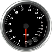 "4-1/2"" Tachometer 10K RPM Shift-light (Dash Mount)"