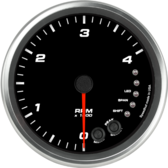 "4-1/2"" Tachometer 4K RPM Shift-light (Dash Mount)"