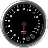 "4-1/2"" Tachometer 12K RPM Shift-light (Dash Mount)"