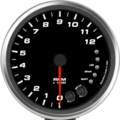 "4-1/2"" Tachometer 12K RPM Shift-light (Pedestal Mount)"