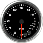 "4-1/2"" Tachometer 16K RPM Shift-light (Dash Mount)"
