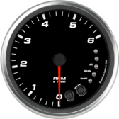 "4-1/2"" Tachometer 6K RPM Shift-light (Dash Mount)"