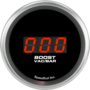 "2-1/16"" Boost/Vac Digital Gauge 750mmhg-0-2bar (w/ Easy Touch™ Bezel)"