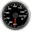 "2-5/8"" Water Temp Gauge 50-125C Metric (w/ warning)"