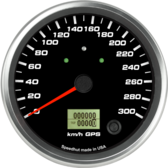 "4-1/2"" GPS Speedometer 300km/h Metric (w/ turn signal and high beam)"