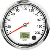 "4-1/2"" Speedometer 200km/h Metric programmable"