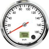 "4-1/2"" Speedometer 180km/h Metric programmable"